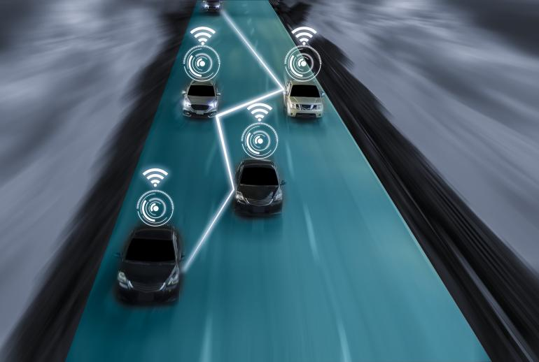 Robot cars   IEC e-tech