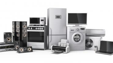 Homes have many household appliances