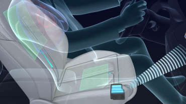 Active wellness car seat for driverless vehicles