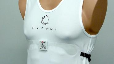 Smart textiles with woven in electronics for health monitoring
