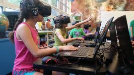 VR enters the classroom