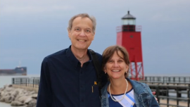 Wayne P. Klug and his wife