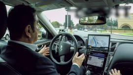 autonomous driving test Carlos Ghosn
