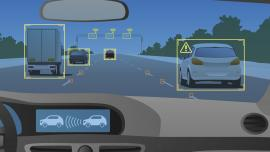 connected car head-up display