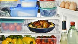 Refrigerator food compartment
