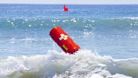 Sea rescue robot EMILY