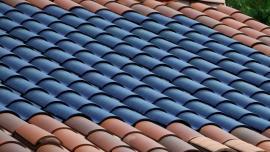 flexible solar PV on roof tiles