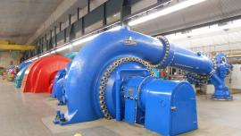 Turbine room Veytaux