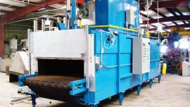 Aluminium alloy convection furnace