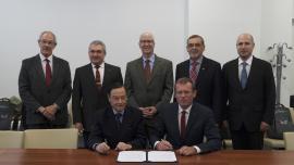 IEC-FINCA signing ceremony