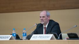 Ralph Sporer, IEC Council, Vladivostok, 2017