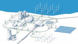 smart grid infographics