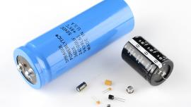 Capacitors come in all sizes
