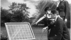 The priniciple of the solar cell was discovered in 1839 but the first solar PV cells were developed in the 1950s