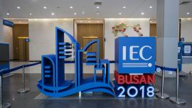 Logo for the IEC General Meeting in Busan