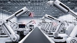 Automated manufacturing plant
