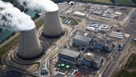 Nuclear power plant in France