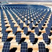 Nevada solar farm