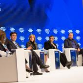 WEF panel discussion