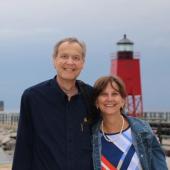 Wayne P. Klug and his wife