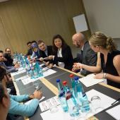Young Professionals at the 2016 YPP workshop in Frankfurt, Germany