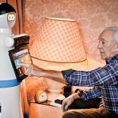 Care robot from Robosoft