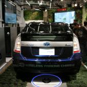 Wireless power transfer for electric cars