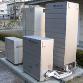 Panasonic Ene-Farm home fuel cells for apartment blocks
