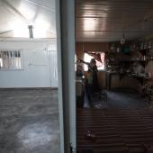 Housing in Za'atari camp in Jordan