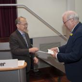 Hiromichi Fujisawa and Dave Smith, Edison Award 2012, Oslo