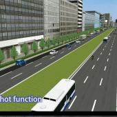 VR allows users to create different traffic scenarios