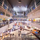 Dubai airport duty free area