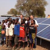 Sioma solar microgrid project