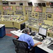 Beaver Valley Power Station control room