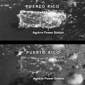 Puerto Rico before and after September 2017 blackout