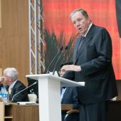 Jim Shannon during his address to IEC Council in Vladivostok 2017