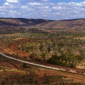 RTZ iron ore train