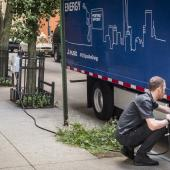 Daimler FUSO eCanter all-electric light-duty truck