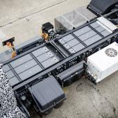 Electric trucks help tackle air pollution