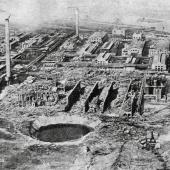 BASF factory explosion in Oppau 1921