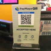 Payment app using QR codes