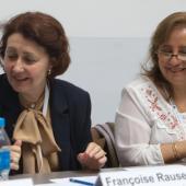 Françoise Rauser and Rosario Uría