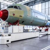Mobile tooling platform A320
