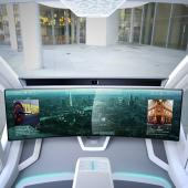 Interior of future transport vehicles
