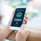 Chat bots make use of AI to help users find information