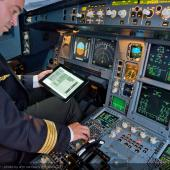 Airbus electronic flight bags