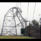 Bent over pylon