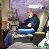 Home dialysis equipment (Photo: Dave's Dialysis Diary)