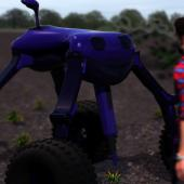 Agricultural robot from the small robot company