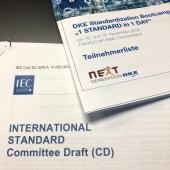 Image of material from the DKE/IEC 'Standard in a day' boot camp